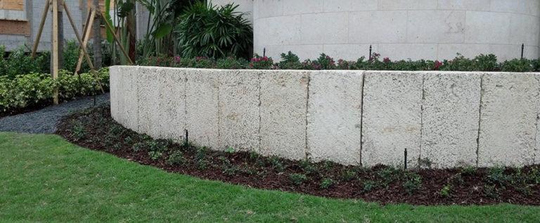 Oolite Stone Wall