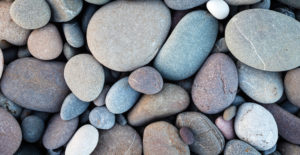 Using beach pebbles in your next garden project South Florida
